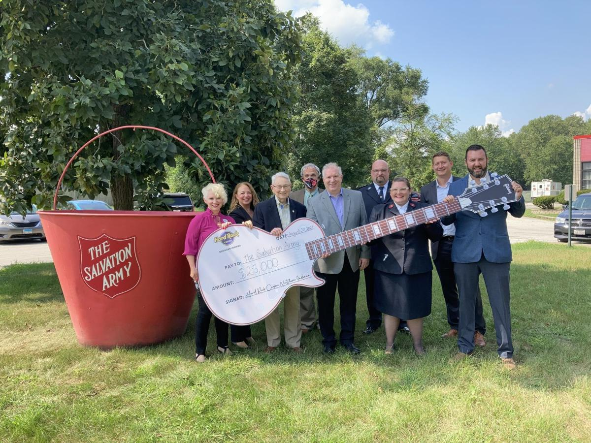 Hard Rock, Horseshoe casinos provide support for Salvation Army, schools