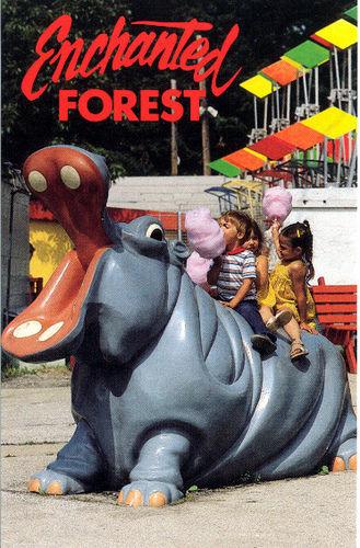 Enchanted Forest Amusement Park Postcard