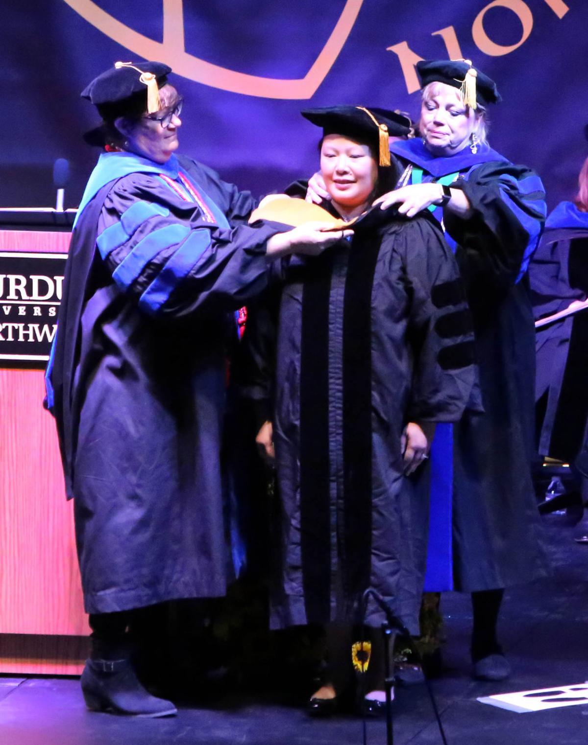 Purdue University recognizes first graduates of Doctor of Nursing Practice program