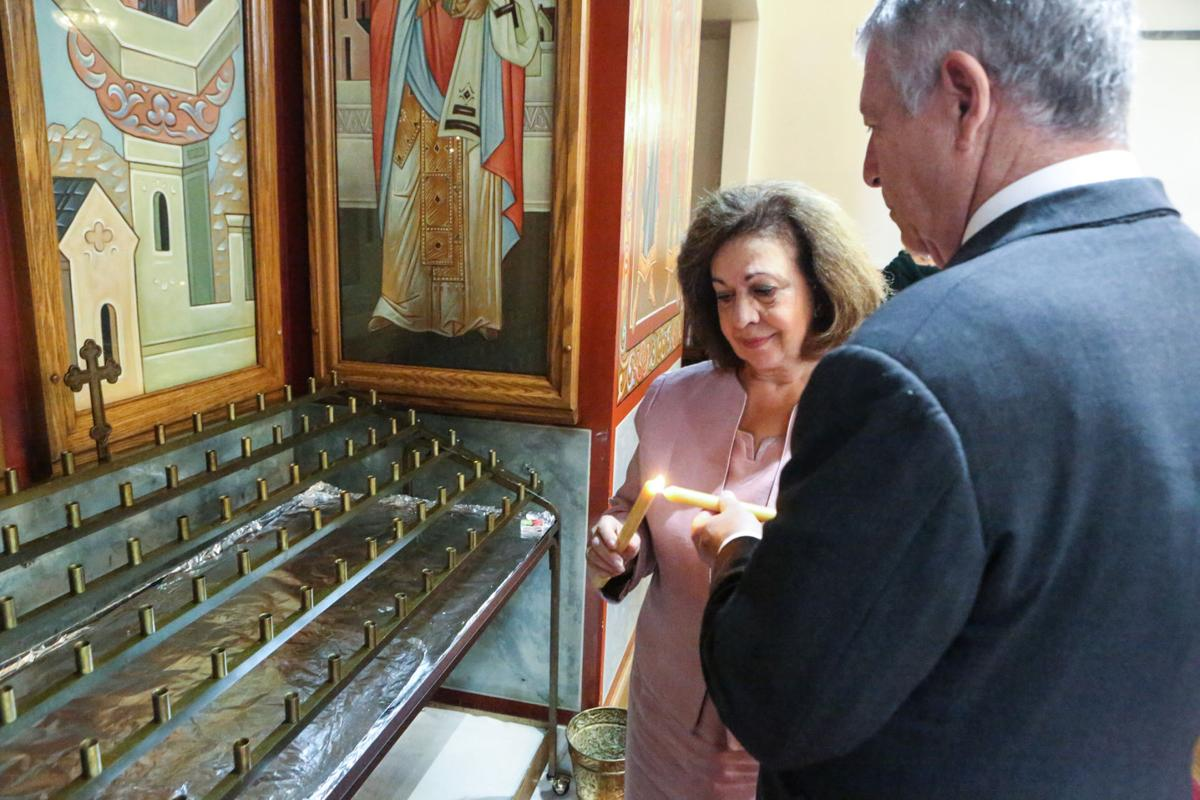 Serbian royalty visits St. Sava in Merrillville