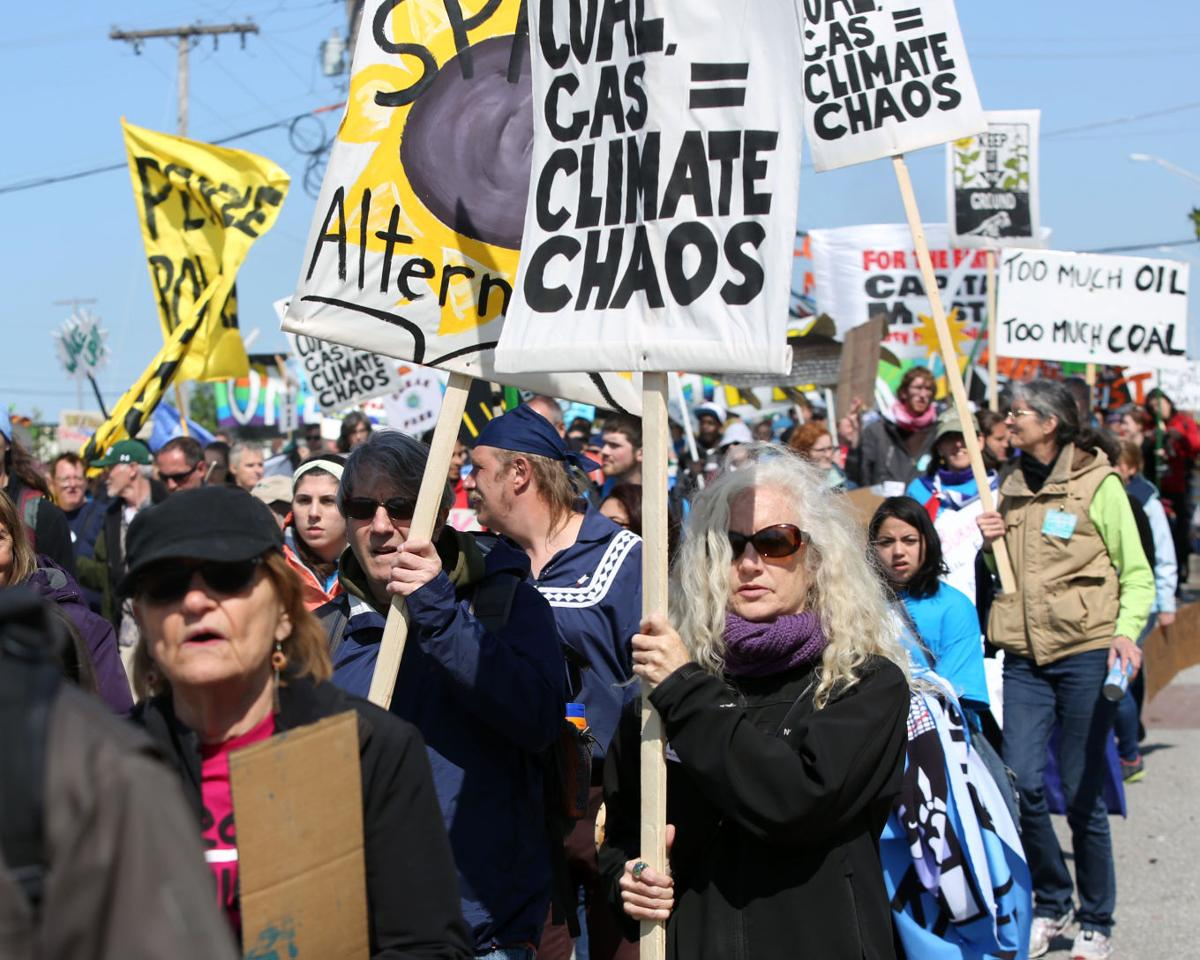 UPDATE: 40 arrested during climate change protest