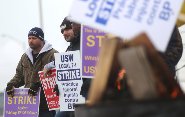 BP Whiting Refinery workers vote to end strike