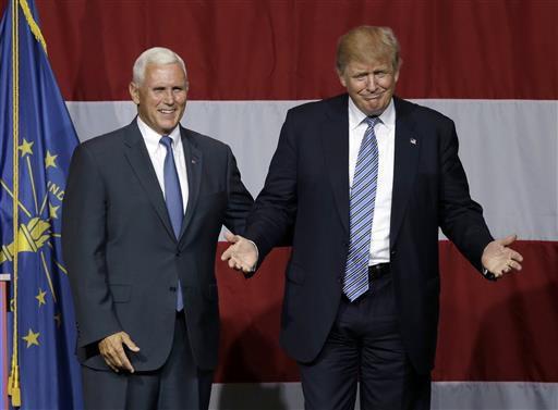 Pence wins Trump's vote; GOP team addresses America Saturday