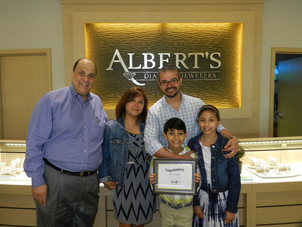 Albert's Diamond Jewelers gives back to the community throughout the year