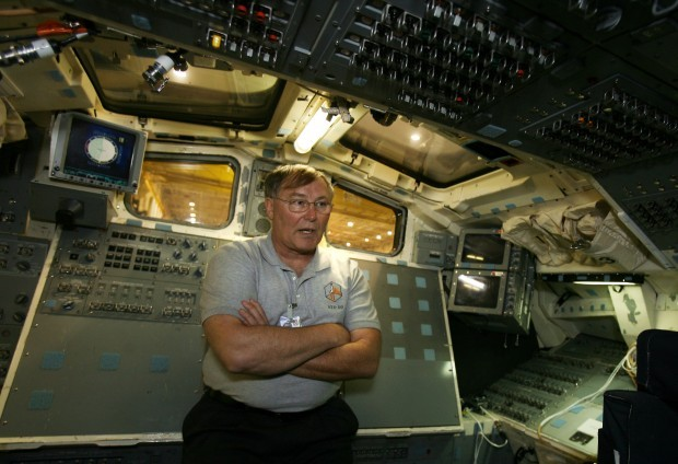 Jerry Ross at NASA Johnson Space Center