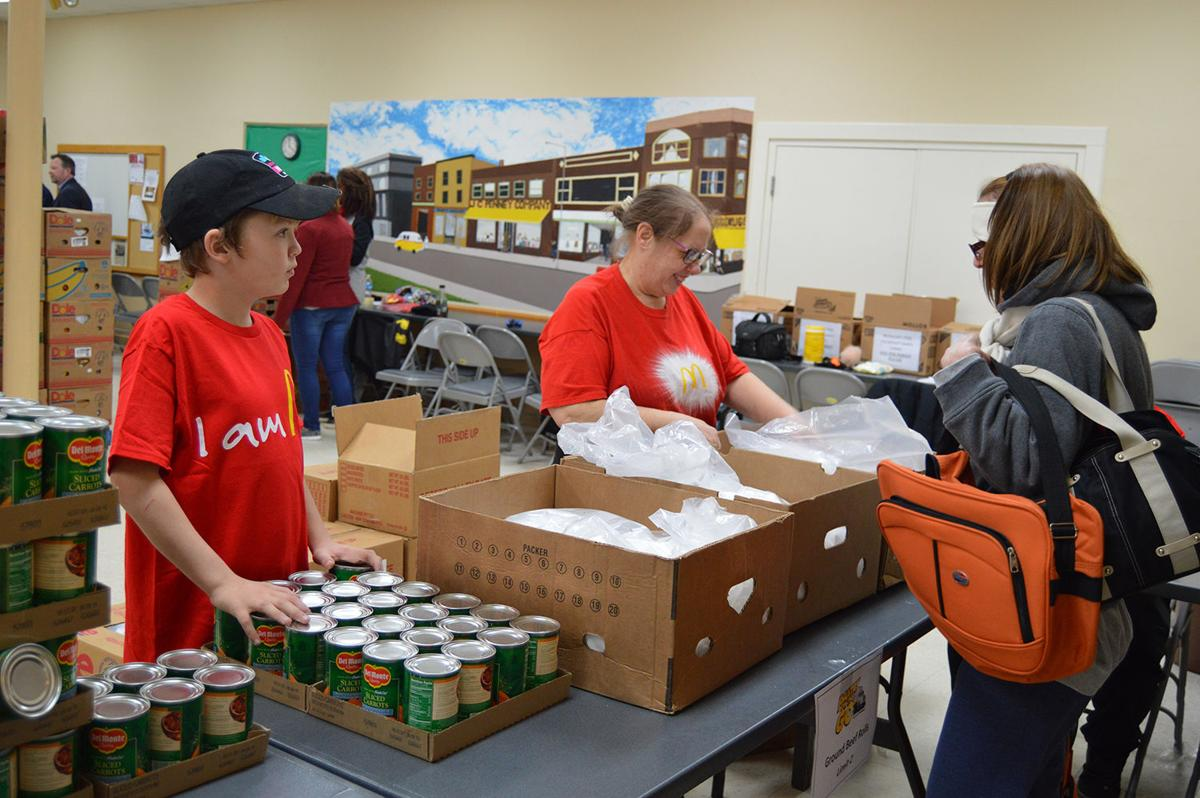 Kids can help fight hunger as food bank volunteers