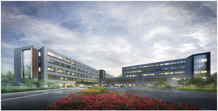 Rendering - Michigan City Hospital