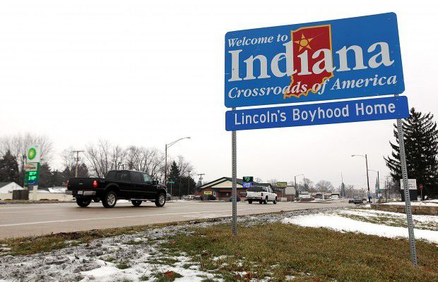 Indiana posted biggest population gain since 2008