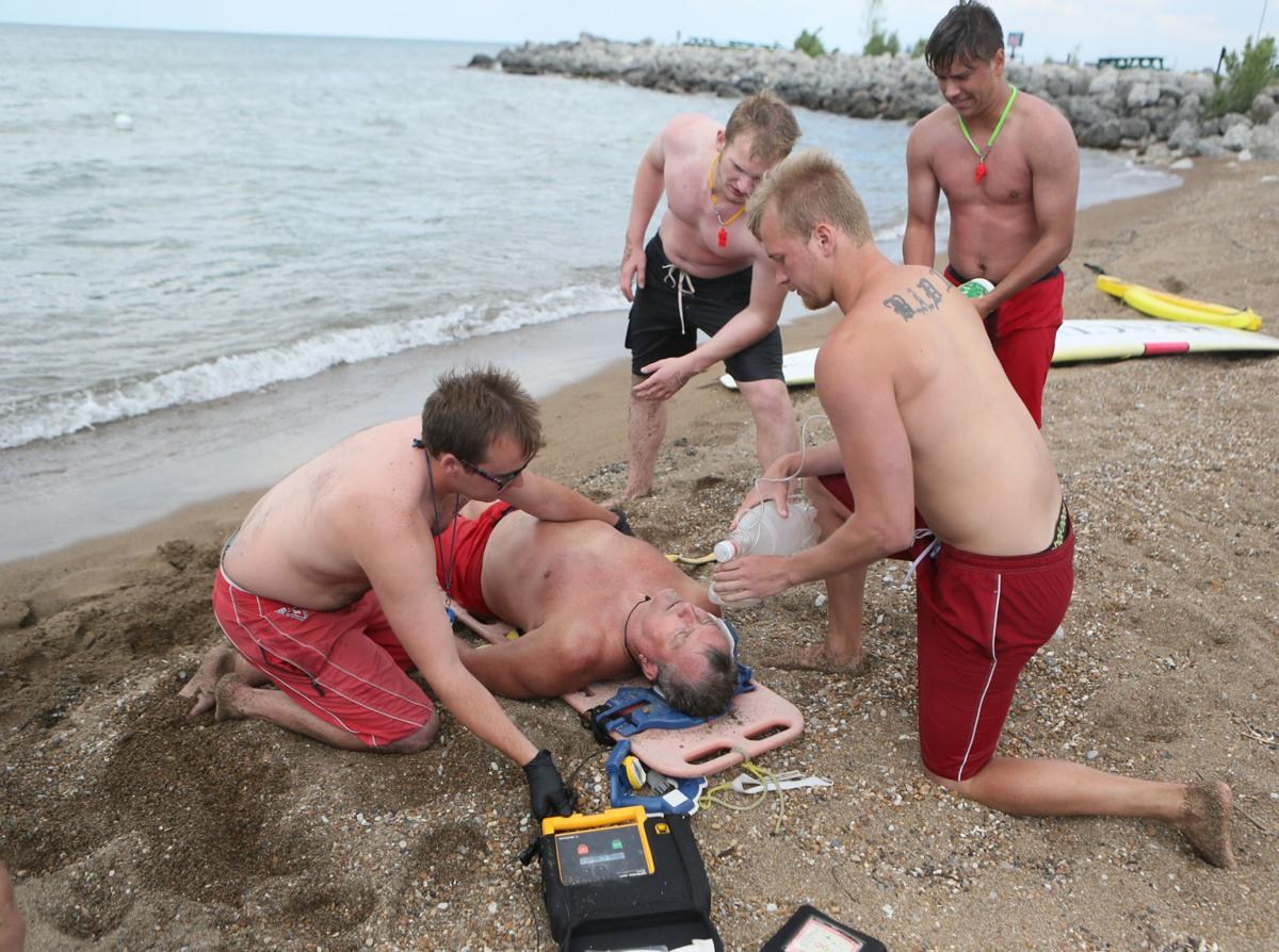 Open Water Surf Lifeguard In-service training (copy)
