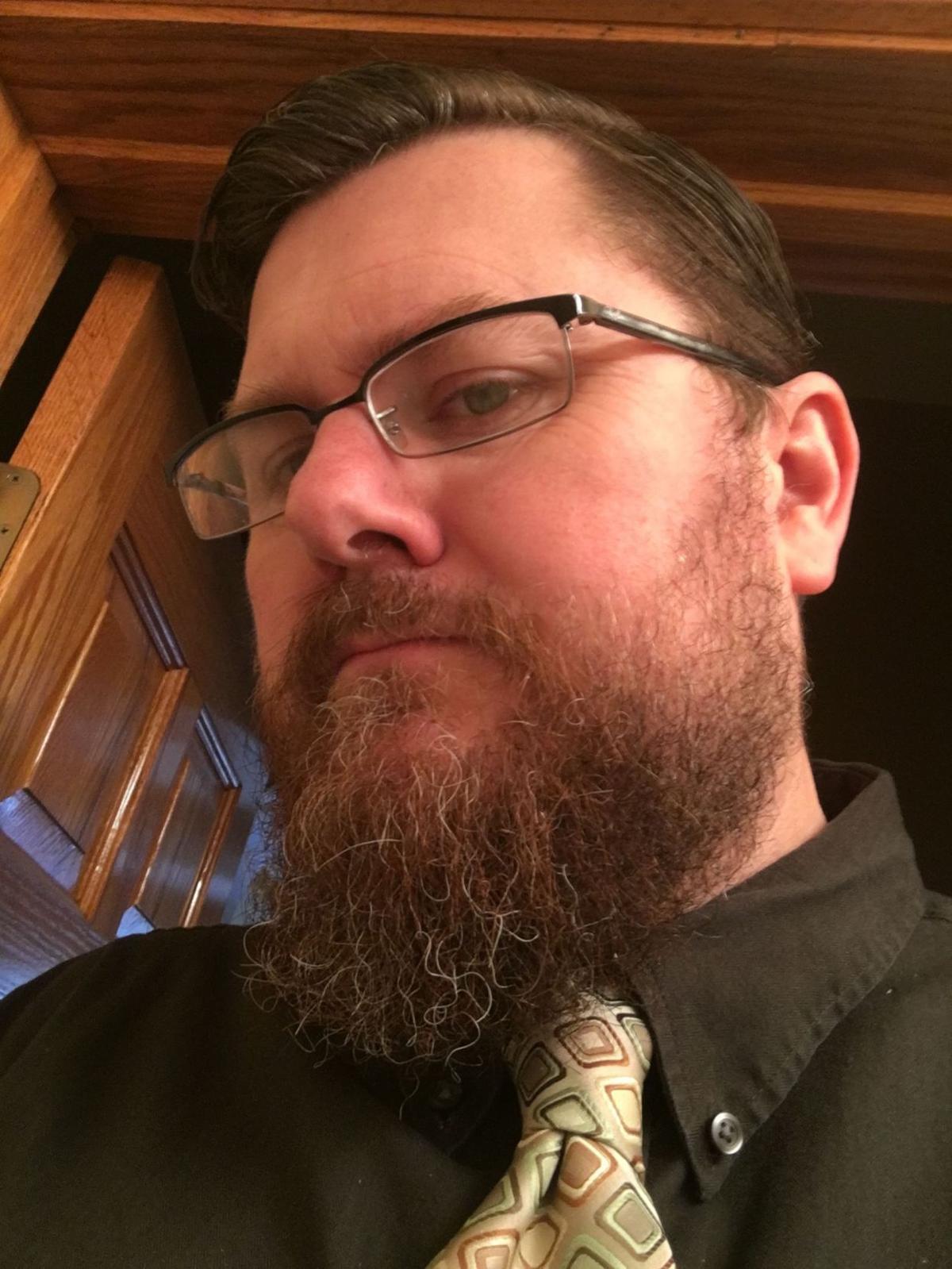 Chase's long beard