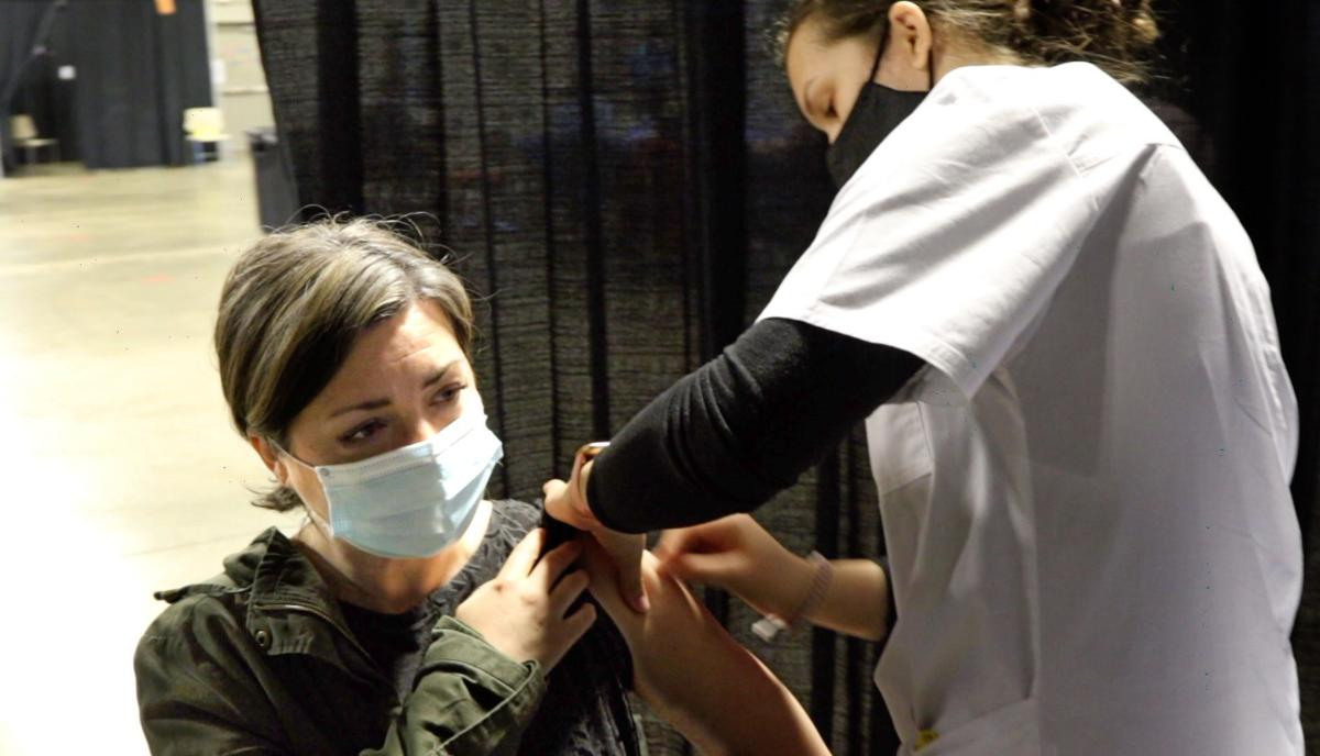 Mass Vaccinations, Porter County Expo Center