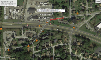U.S. 30 and Joliet Street intersection to close Monday