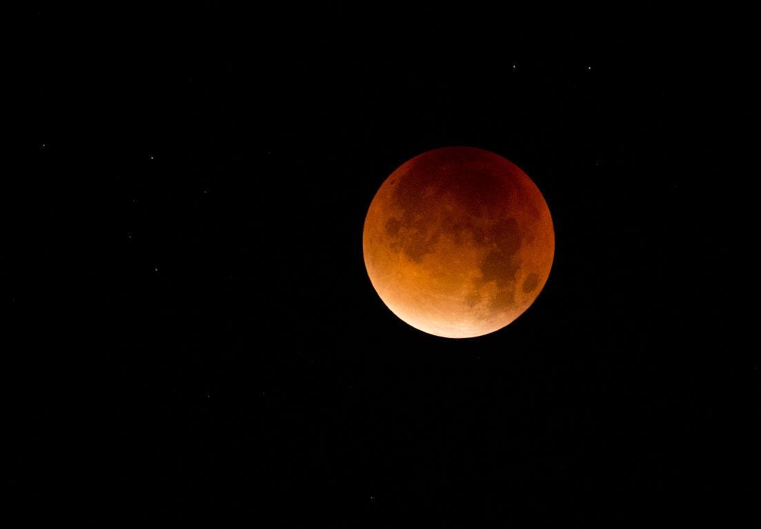 Portugal Supermoon Eclipse