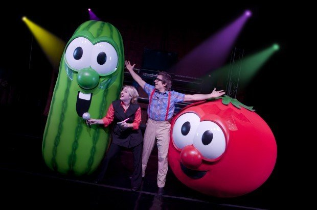 OFFBEAT: VeggieTales national premiere of new 'Celery ... Veggie Tales Larry The Cucumber And Bob The Tomato