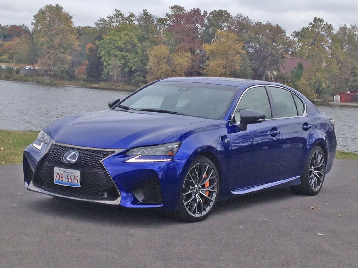 Lexus GS F sport sedan