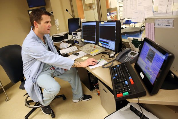 Matt Loveitt, electrophysiology supervisor at Porter Regional Hospital