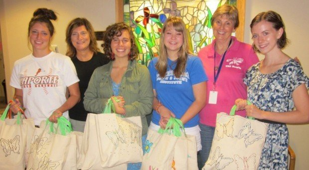 Girl Scout Gold Award project benefits VNA Hospice Center patients, their families