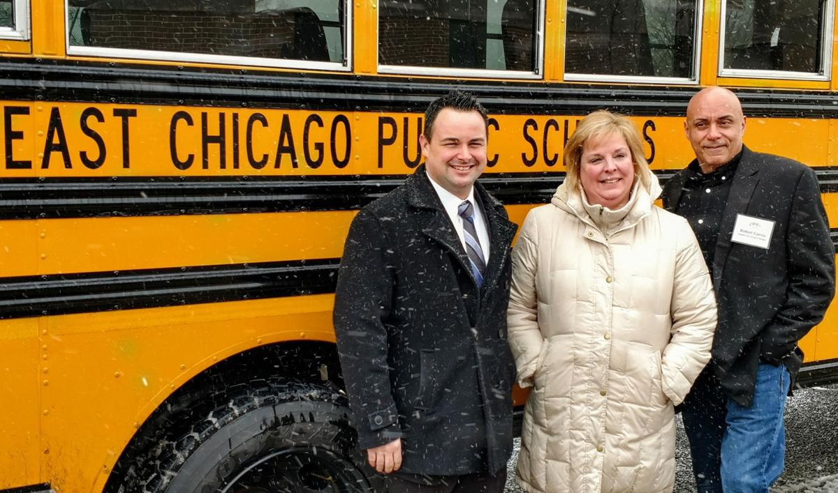 East Chicago schools have six propane-fueled buses