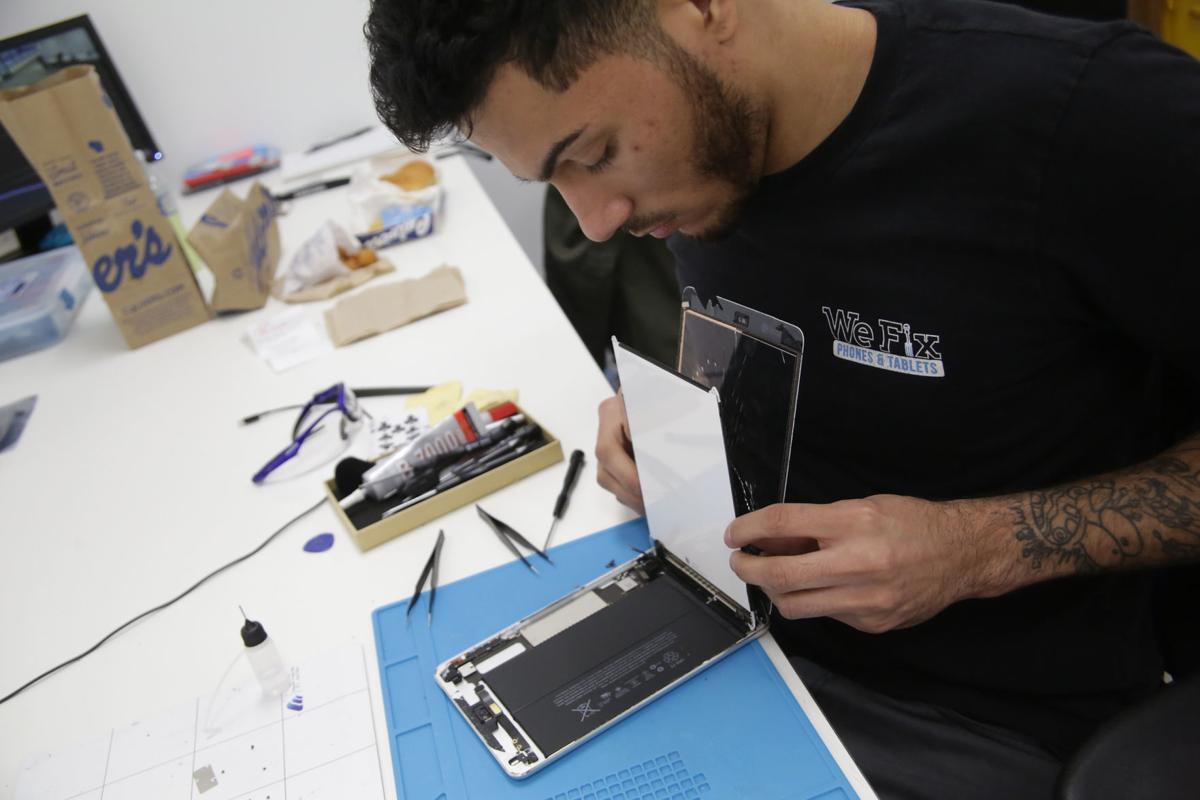 Phone repair shops opening all across Region