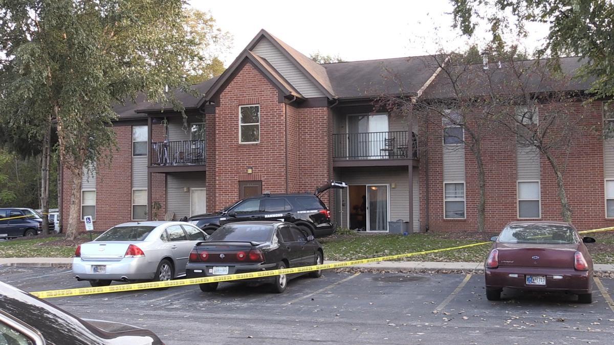 Police investigating scene at Hammond Apartment Complex