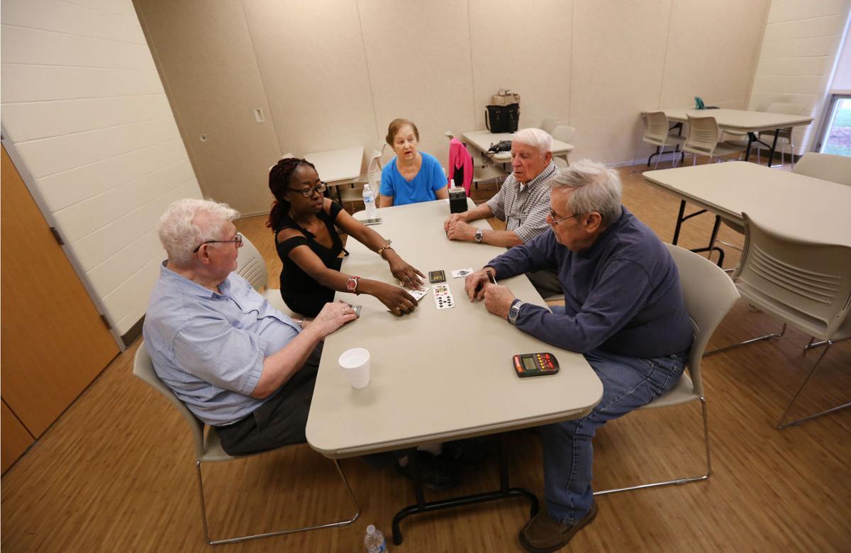 Indiana lake county highland - Seniors Socialize At Lincoln Center Highland