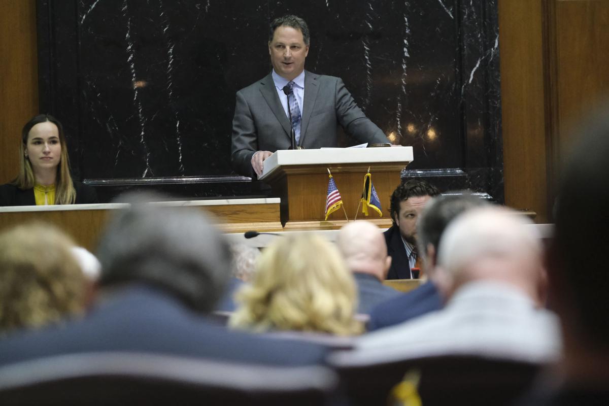 Indiana Legislature Bosma