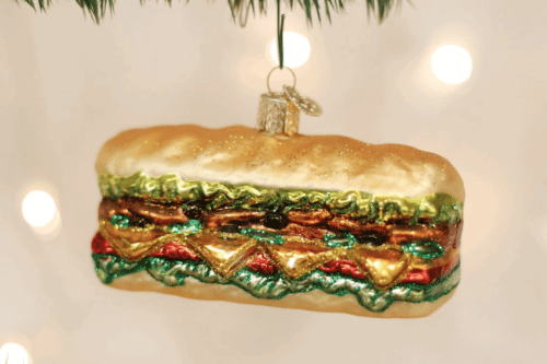 burritos and other amazing food ornaments every food lover should own