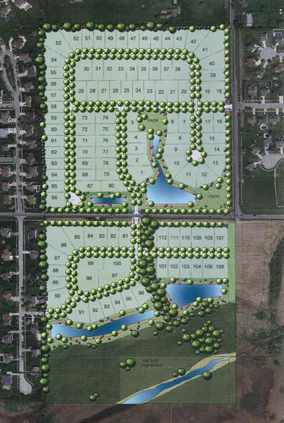 Walden Clearing lot layout