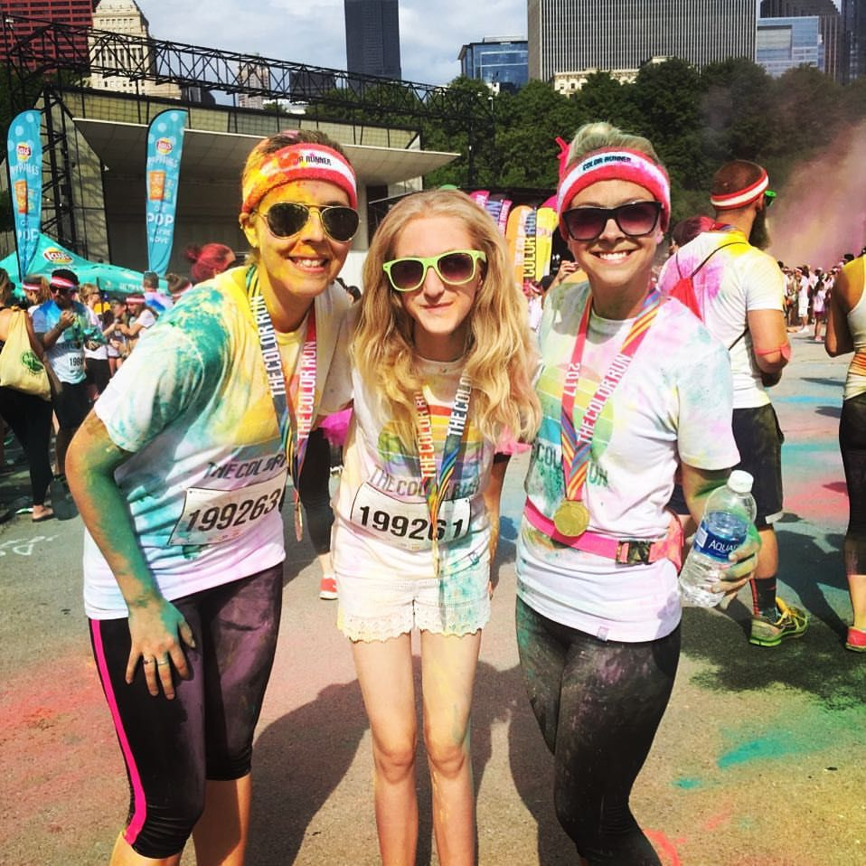 The Unnatural-born Athlete: Feeling colorful