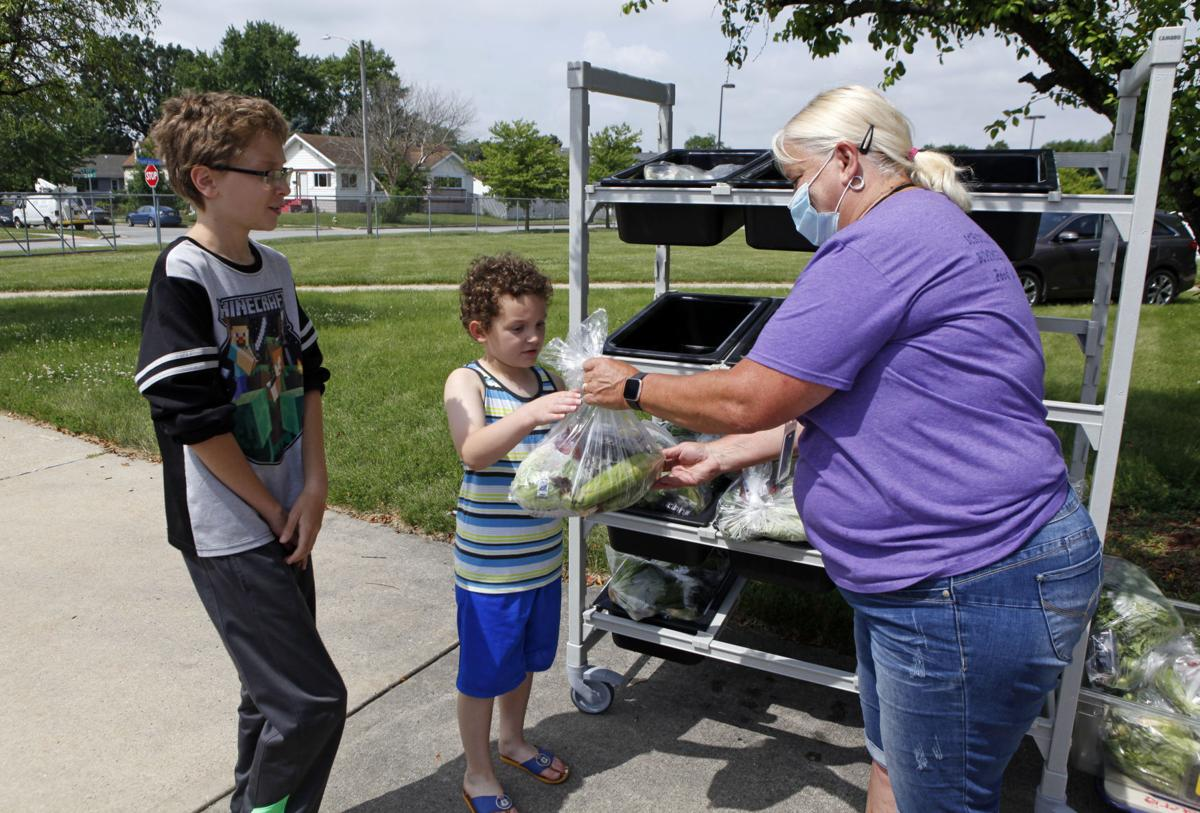 Schools draw up new plans for lunch amid safety protocols and food shortages