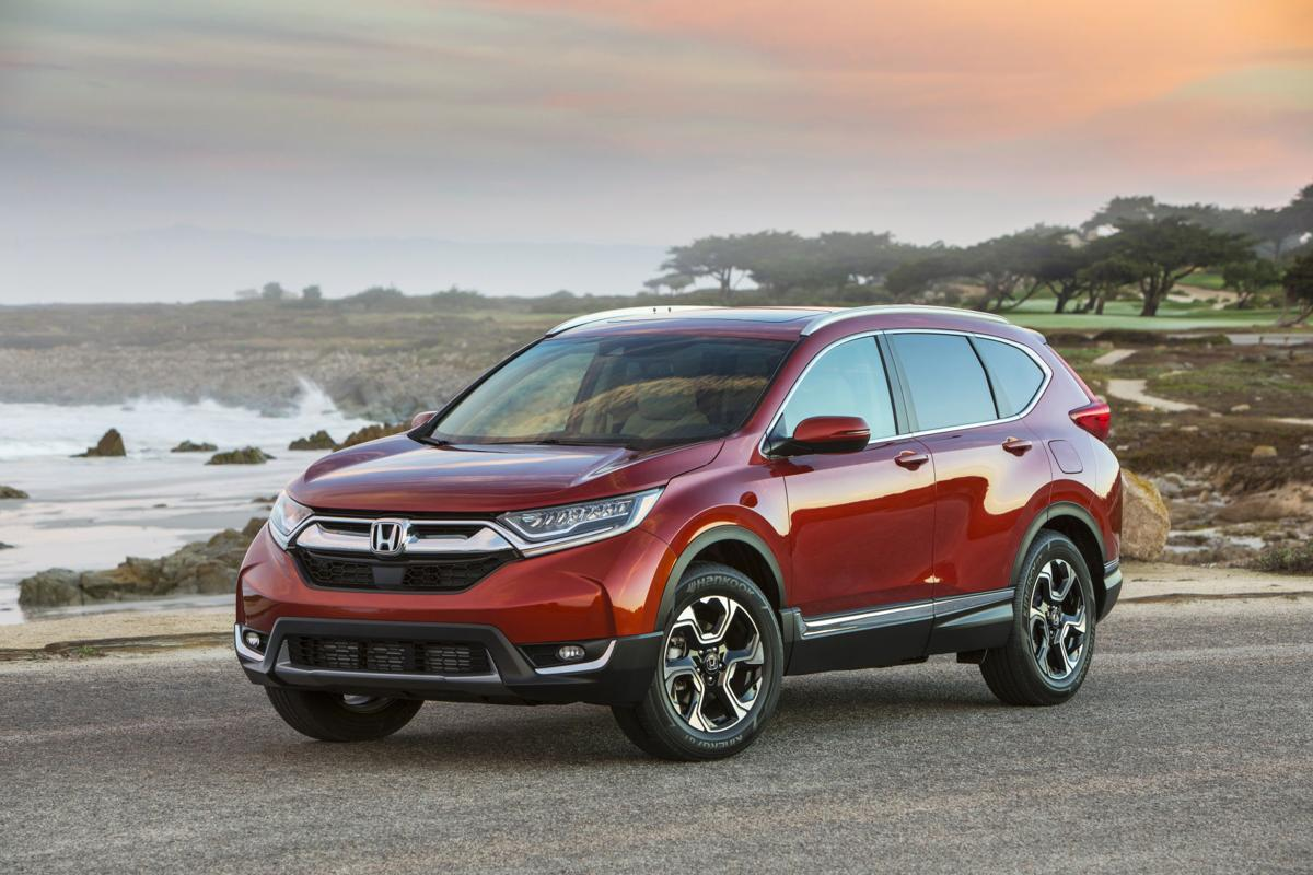 All Types crv length : Honda CR-V is restyled, has first turbo engine in 2017 | Cars ...