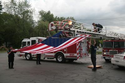Cedar Lake FD and Flag