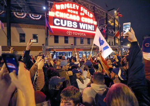 Chicago expecting throngs of fans for Cubs victory parade