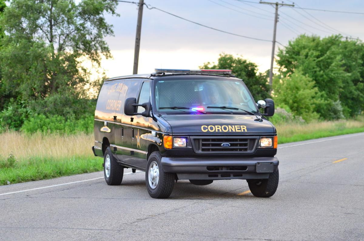Lake County coroner's van stock