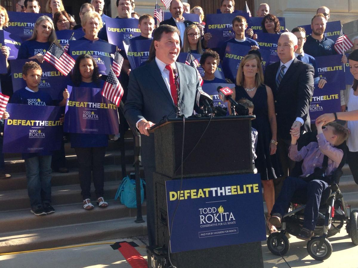 Rokita running for U.S. Senate to 'Defeat the Elite'