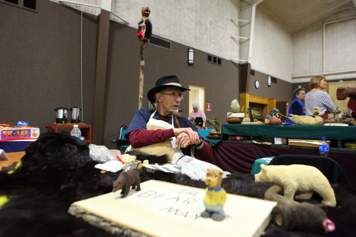 42nd annual Duneland Woodcarvers Show in Portage.