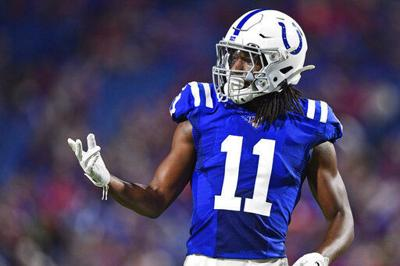 Colts receiver making impressive comeback from knee injury
