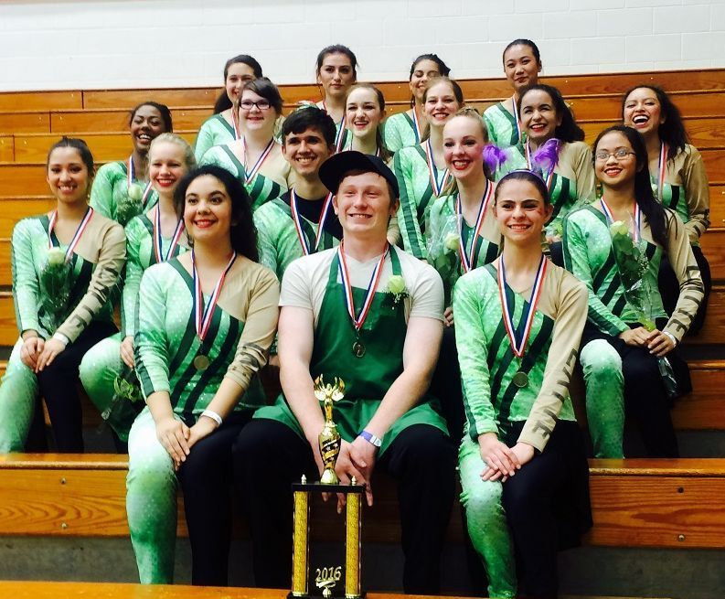 Munster High School Winterguard takes first place