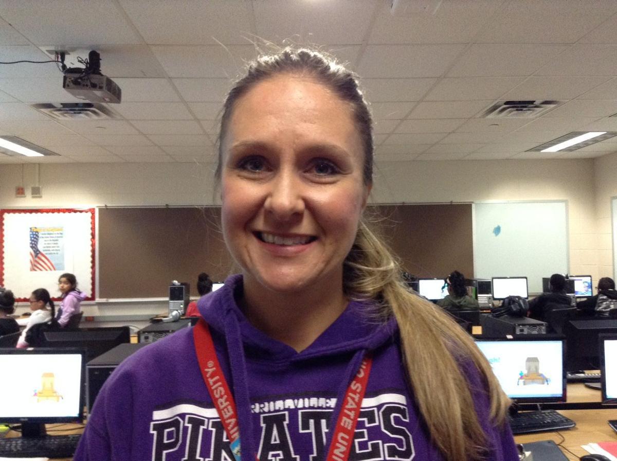 Meet Merrillville Intermediate School teacher Rachel Brazil