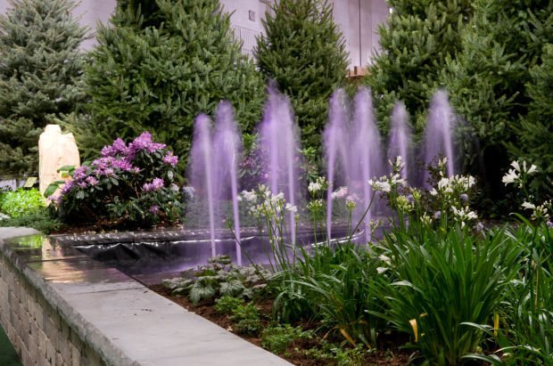 Nwi participants in chicago flower and garden show bring the spring home and garden for Chicago flower and garden show