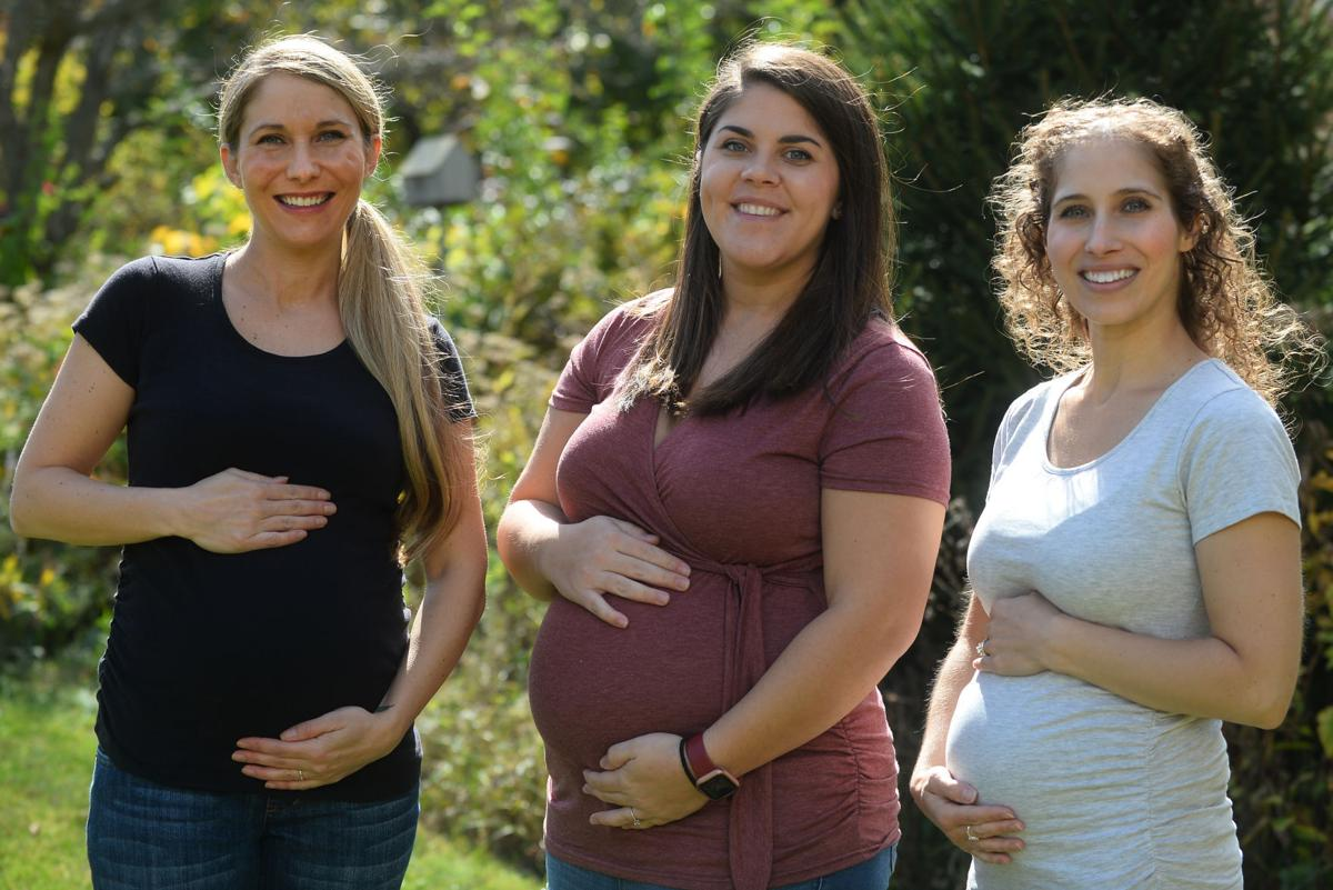 3 NWI sisters, 11 years apart, sharing pregnancy journey