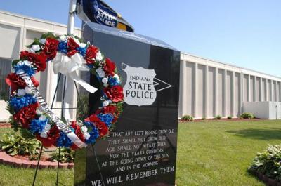 State police memorial service