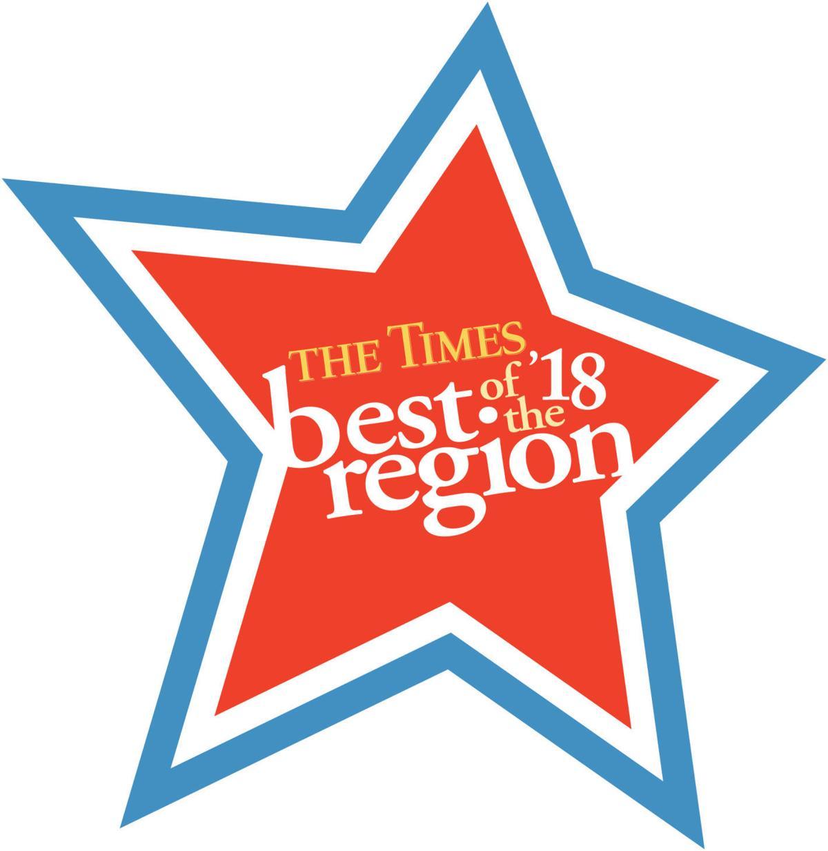 Best of the Region 2018 logo