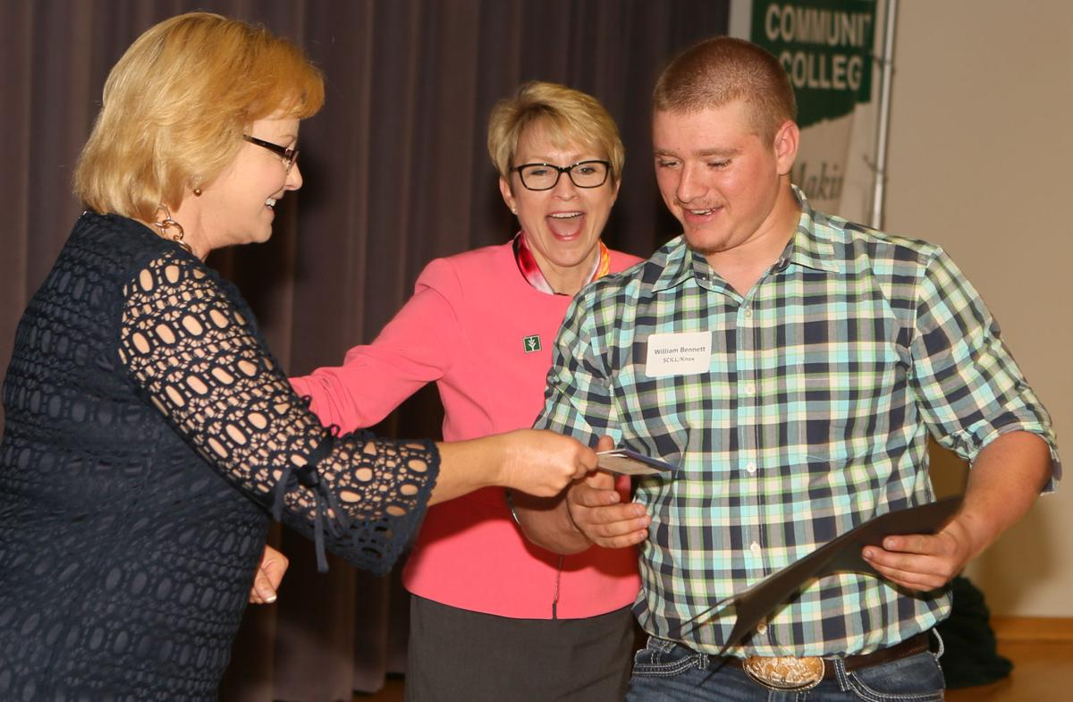 Twenty-one  high-achievers from local vocational ed schools get awards