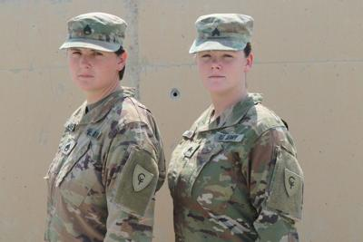 'She's here for me': Region sisters spend 1st deployment together in Kuwait