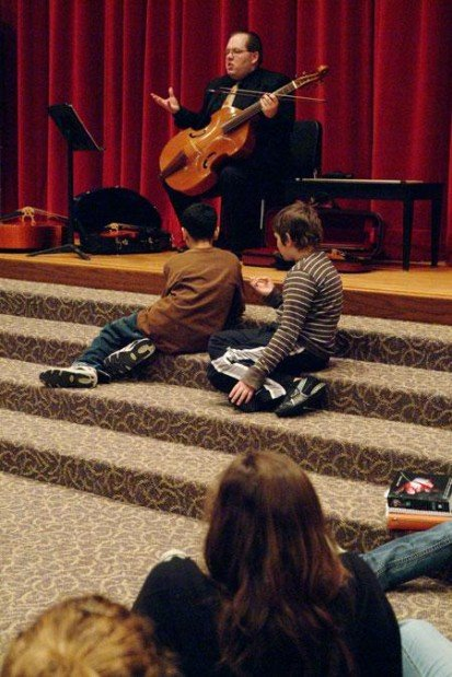 Students get lesson in little-known instrument