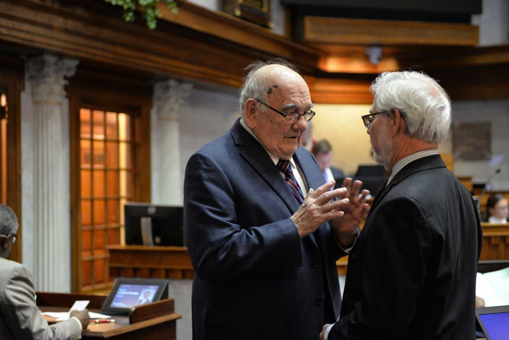 Mrvan still getting things done in the Senate, despite being away from the Statehouse