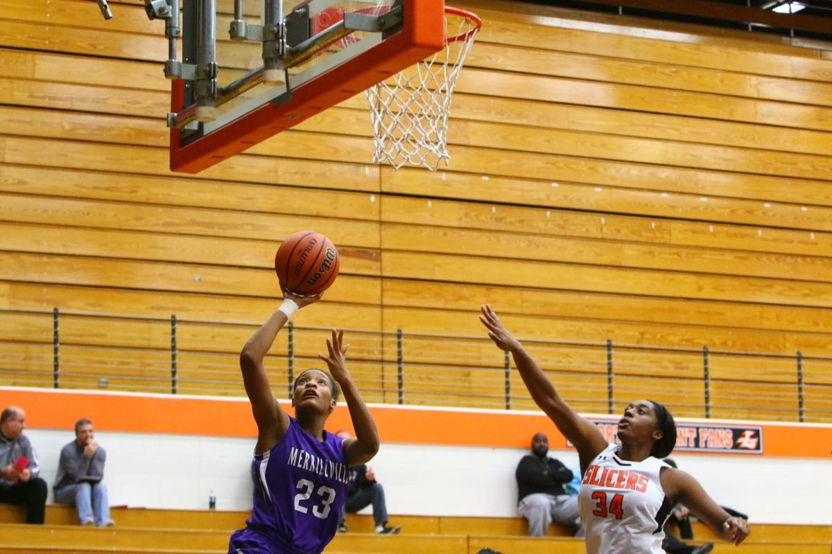 Holiday Hoops Tournament: Merrillville vs. LaPorte girls basketball (copy)