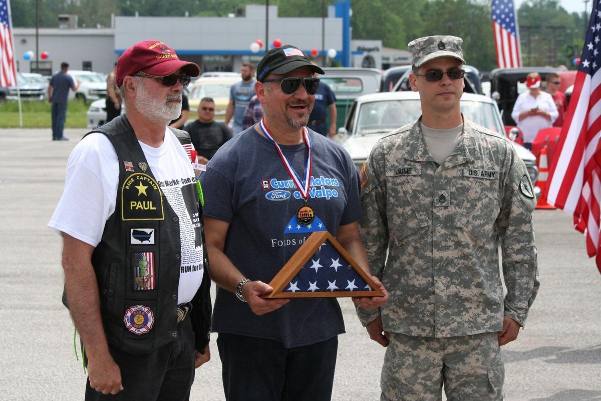 Currie Motors Ford of Valpo honors veterans, raises money for children