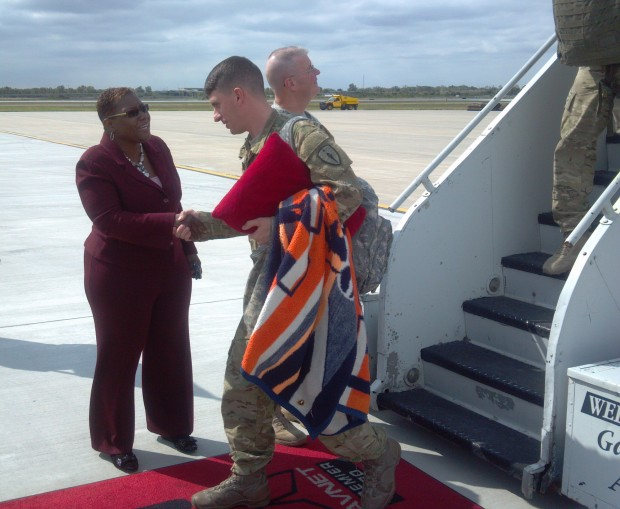 Valpo-based National Guard unit that lost 6 in Afghanistan returns